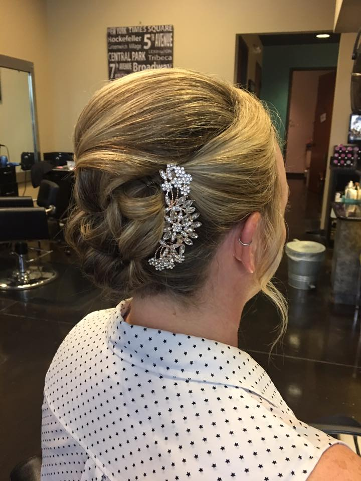 Updo by Emali