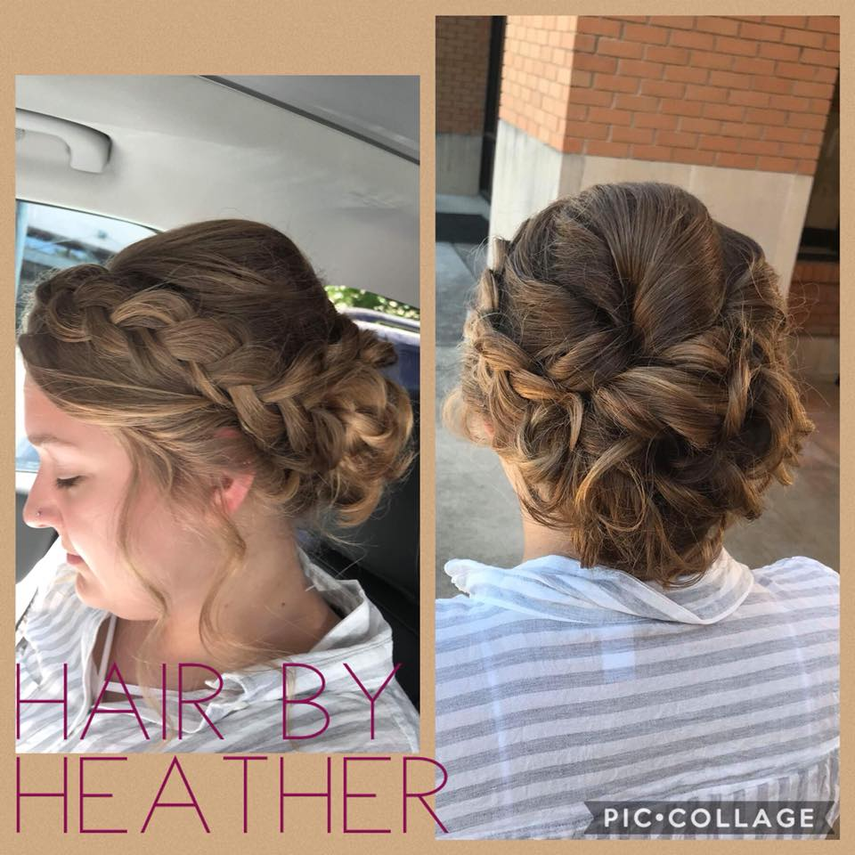 Updo by Heather